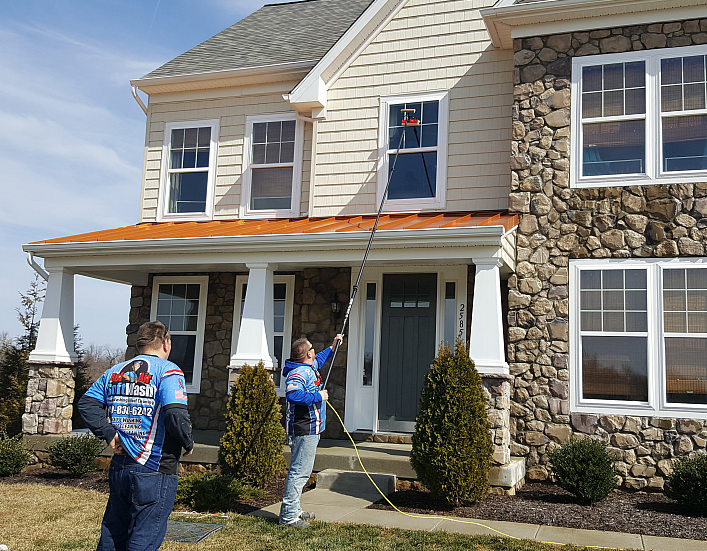 window cleaning baltimore